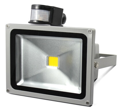 20W LED Flood Light with motion sensor