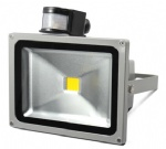 30W LED Flood light with motion sensor